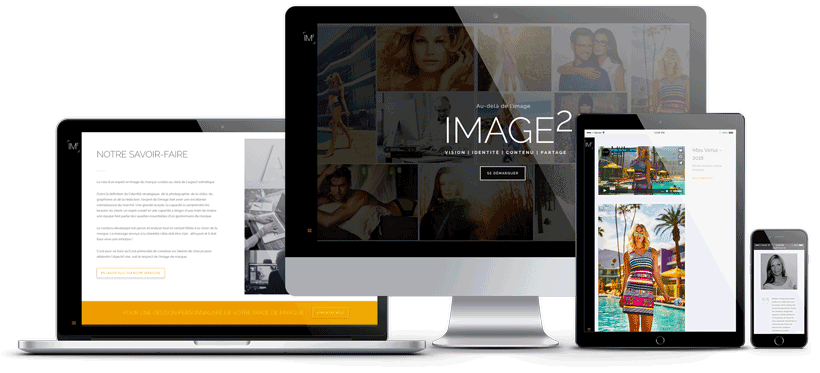 mockup du site web de Image2